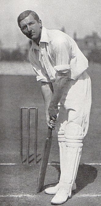 Hampshire County Cricket Club - C.B. Fry, who represented Hampshire between 1909–1921