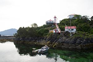 Nootka Island - Image: CCG IRB Station Nootka Lightstation