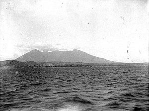 Baluran - Mount Baluran pictured in 1891