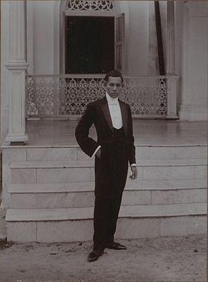 Terengganu Sultanate - Sultan Muhammad Shah II, then a Raja Muda in 1909.