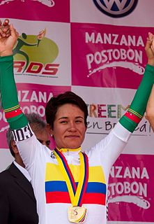 Ana Sanabria Colombian bicycle racer