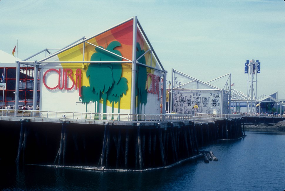 CUBAN PAVILION AT EXPO 86, VANCOUVER, B.C.