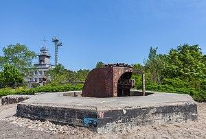 Hel Fortified Area - 100 mm gun