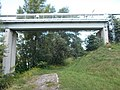 Cable bridge by Miklós Bödök, Gyárváros side, 2018 Győr.jpg