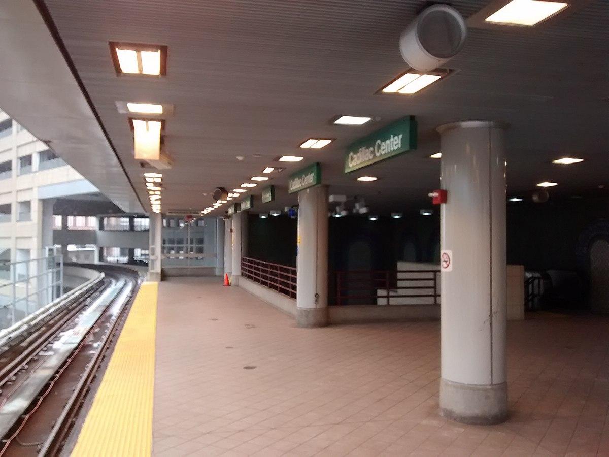 Cadillac Center Station Wikipedia