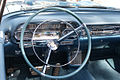 Cadillac El Dorado 1957 Biarritz Convertible cockpit Lake Mirror Cassic 16Oct2010 (14690677459).jpg