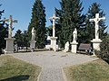 Calvary crosses and statues, 2018 Dombóvár.jpg