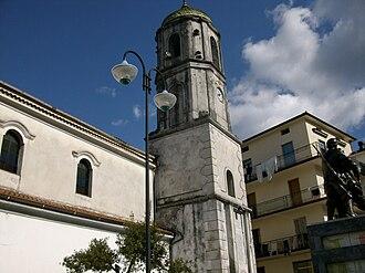 Celle di Bulgheria - Image: Campanile della Madonna della Neve (Celle di Bulgheria)
