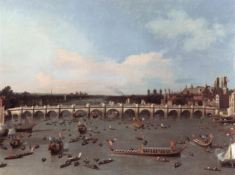 Canaletto Westminster Bridge 1747