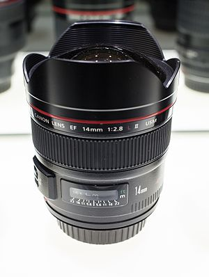 Canon EF 14mm lens - Image: Canon EF 14