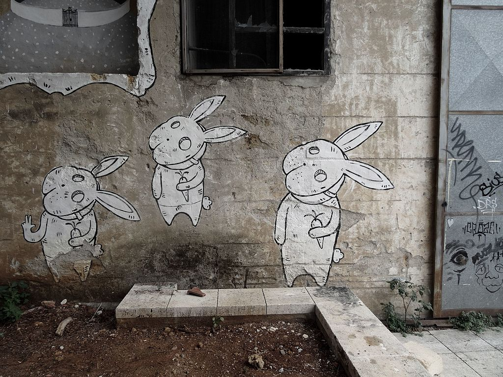 Street art de Cantieri Culturali Zisa à Palerme - Photo de Missannthrope