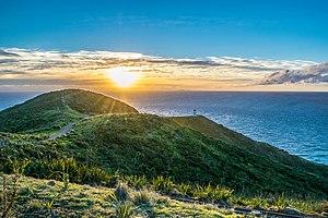 Cape Reinga - Cape Reinga Lighthouse at Sunset