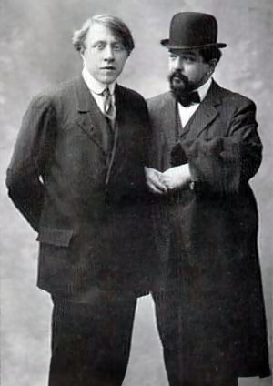 André Caplet - André Caplet with Claude Debussy