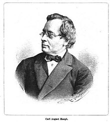 Carl August Haupt (Quelle: Wikimedia)