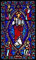 Carl Huneke's stained glass window - The Evangelists at The Cathedral of the Annunciation, Stockton, CA.jpg
