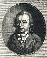 Karl Leonhard Reinhold, grafiek van Johann Christian Benjamin Gottschick naar een tekening van Johann Heinrich Lips