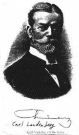 Lindenberg Medal - Dr. Carl Lindenberg