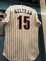 Carlos Beltran jersey, LOC Baseball Americana exhibit, April 2019.jpg