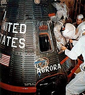 Mercury-Atlas 7 1962 crewed spaceflight within NASAs Project Mercury