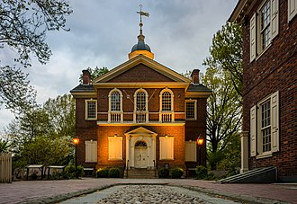 Carpenters' Hall - Image: Carpenters' Hall, Philadelphia, USA, May 2015