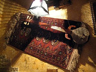 Stringed musical instrument from Azerbaijan