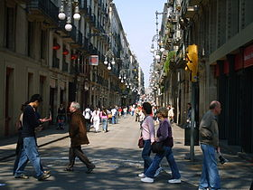 Image illustrative de l'article Rue Ferran (Barcelone)