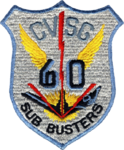 Carrier Anti-Submarine Air Group 60 (US Navy) insignia 1966.png