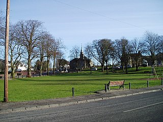 Carstairs village in the United Kingdom