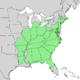 Carya glabra range map 1.png