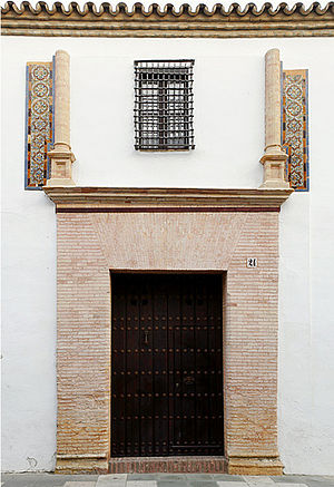 Pinzón brothers - Pinzón family house in Palos, now Casa Museo de Martín Alonso Pinzón.