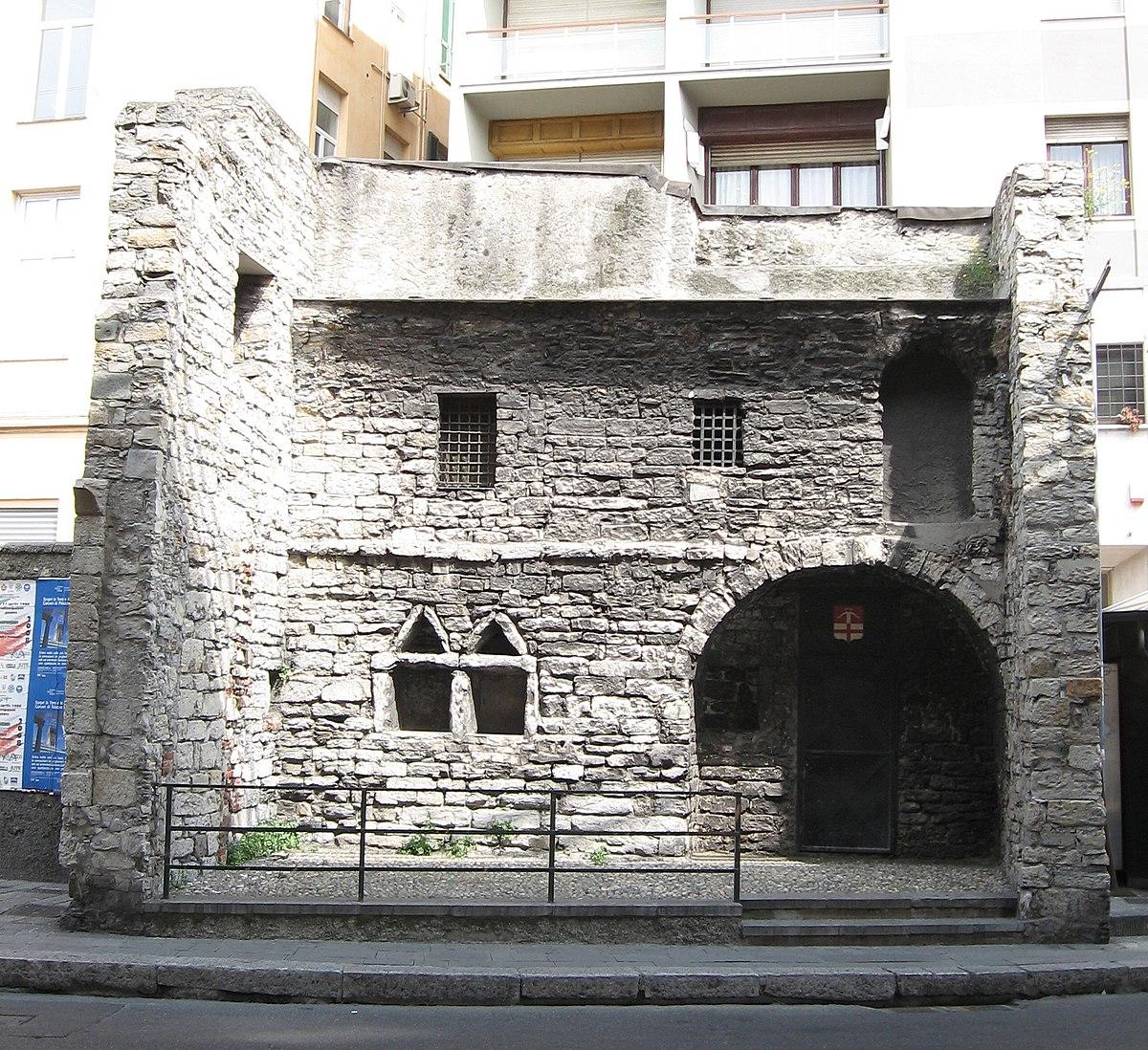 Casa del boia genova wikipedia for Piani casa molo