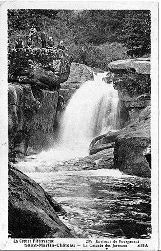 Bourganeuf - Jarrauds waterfall