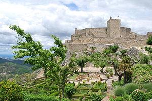 Battle of Marvão - Present day view of Castelo de Marvão
