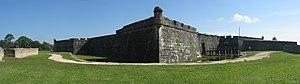 Castillo de San Marcos Fort Panorama.jpg