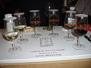 Sherry - A degustation of sherries