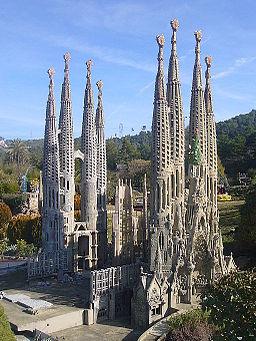 Catalunya en Miniatura-Sagrada familia 2