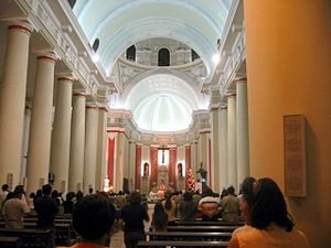 St. Mary's Cathedral, Chiclayo - Internal view