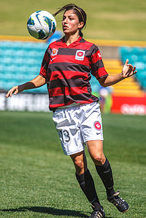 Catherine Cannuli Association footballer