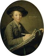 Le Peintre Germain Jean Drouais à l'âge de quinze ans