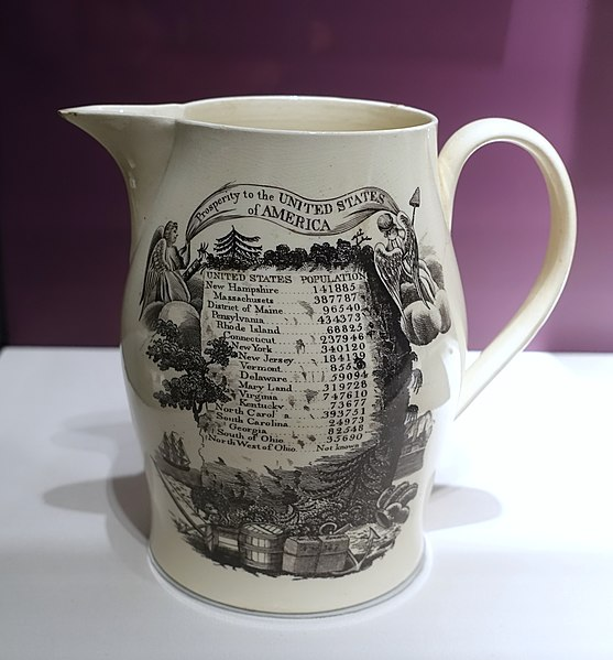 File:Census pitcher, c. 1790, ceramic - National Museum of American History - DSC05343.jpg