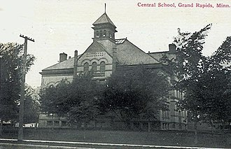Itasca County, Minnesota - Image: Central School Grand Rapids MN