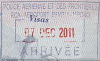 Central African Republic Entry Passport Stamp (Air).jpg