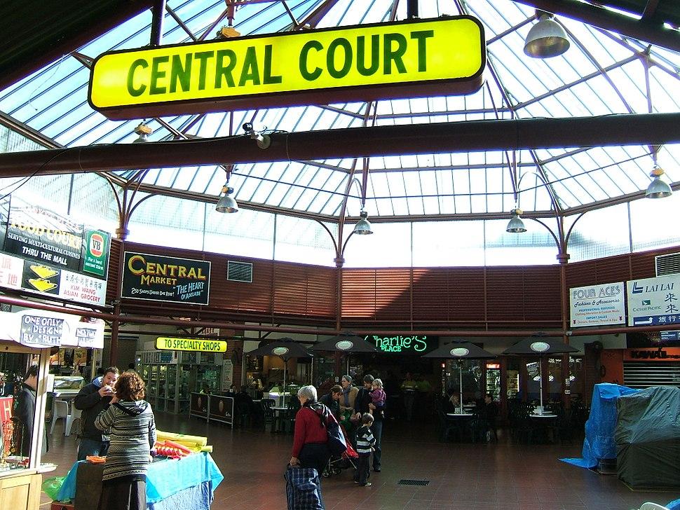 Central Court, Adelaide Central Market
