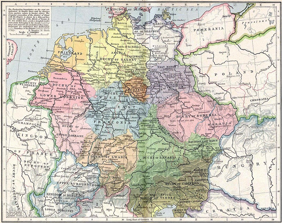 Central Europe, 919-1125
