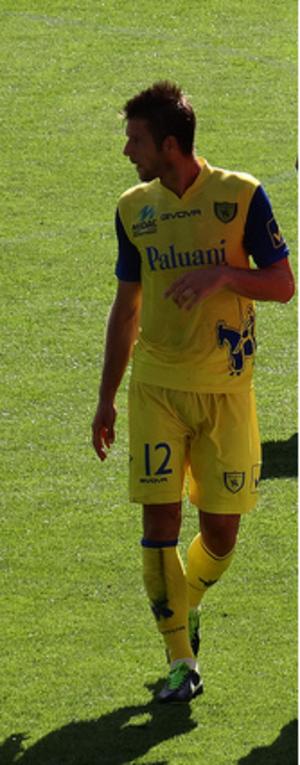 Boštjan Cesar - Cesar with Chievo in 2013
