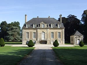 Tour-en-Bessin - Chateau of Vaulaville