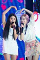 Chaeyoung and Dahyun at Guam K-pop Festival 'Yes or Yes' on December 1, 2018 (2).jpg