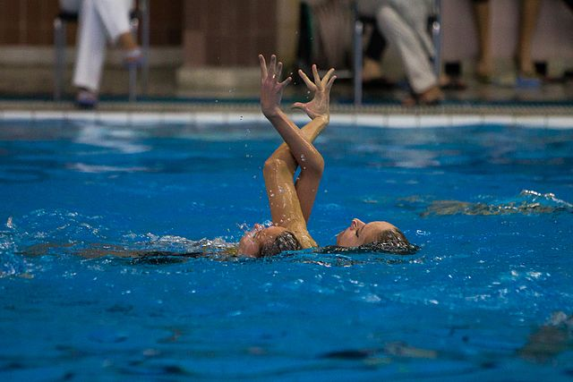 Championship of the North-West Federal District in synchronized swimming (2016-10-20) 03.jpg