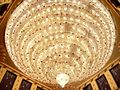 Chandelier at a pujo pandal.jpg