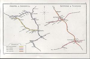 Tuxford - Former railway stations